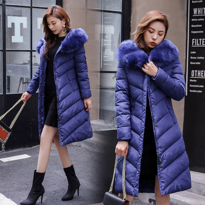 Chic down cotton-padded jacket 2019 new Korean winter padded ins jacket