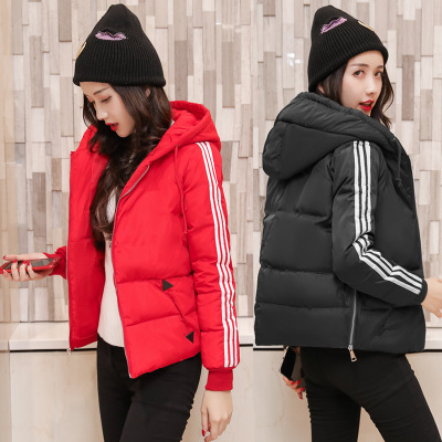 2019 new women's cotton-padded jacket for women