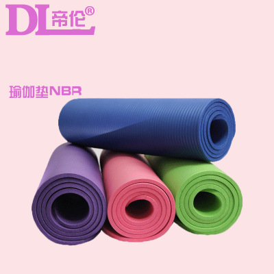 NBR yoga mat with 10mm width and lengthening