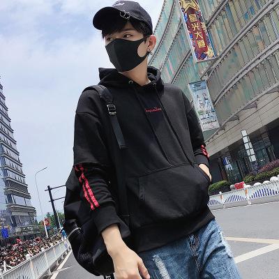 Pepp恩步2019秋季新款卫衣男韩版休闲男士卫衣个性假两件男士帽衫