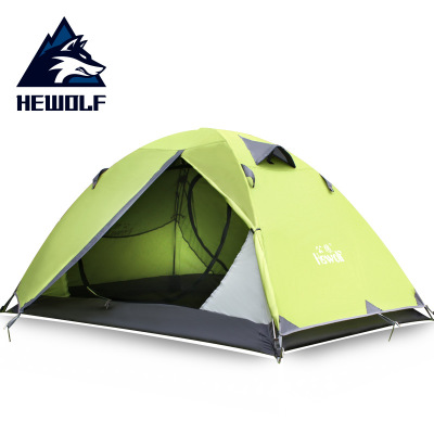Male Wolf tent outdoor supplies double camping tents against heavy rain professional camping equipment tents