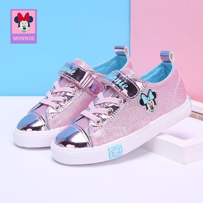 迪士尼童鞋女童运动鞋新款秋季儿童韩版时尚板鞋学生休闲童鞋