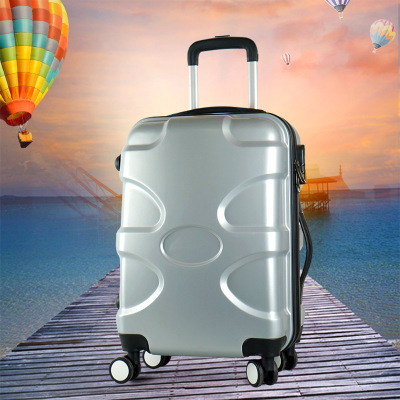 The new Korean version of The student kyle pull bar box female male 20 password box 24 inch wanxiang wheel travel luggage 28 inches