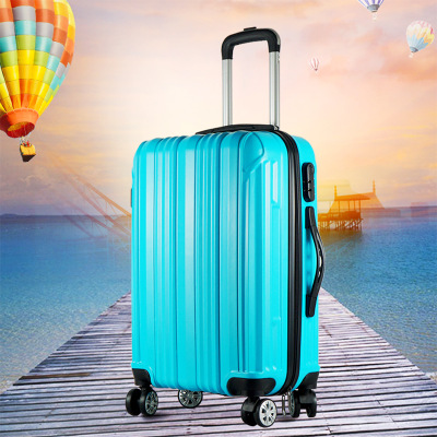Aluminum frame luggage suitcase 220,000 to wheel pull rod luggage female 24 Korean version of student password kyle male 30 inches