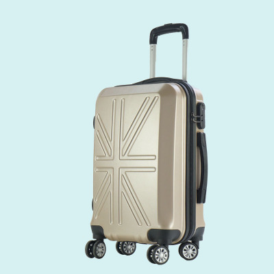Processing custom logo goodwill union flag gift pull rod box 20 inches universal wheel luggage password luggage