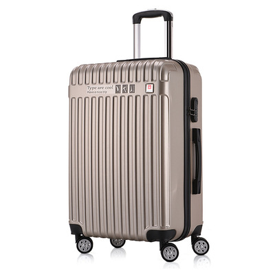 时尚杯架款拉杆箱学生行李箱万向轮旅行箱24寸密码登机箱一件代发