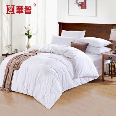 厂家磨毛四件套纯色酒店床上用品床单被罩枕套床笠四件套
