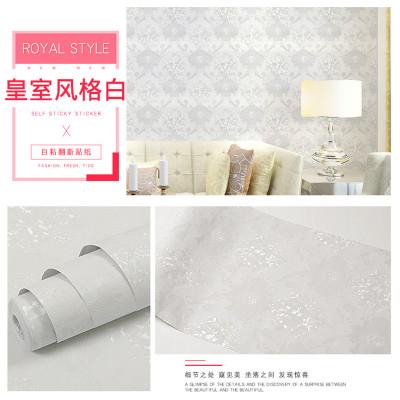 富迪新款纯色壁纸批发pvc自粘墙纸加厚环保即时贴纸翻新贴膜包邮