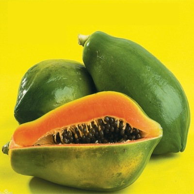 Authentic rock sugar red heart papaya fresh green milk fruit papaya orchard for 9 kg a piece
