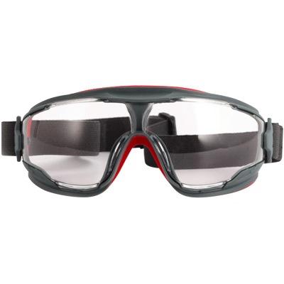 新品3M GA501防护眼罩 舒适型持久防雾眼镜 防粉尘化学液体飞溅