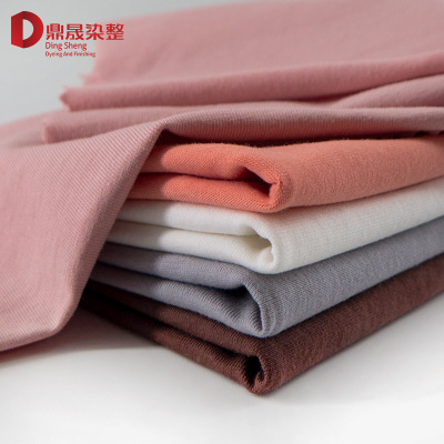 40 s pure cotton rack plain 170 g single jersey dance dress fabric combed cotton primer t-shirts fabric