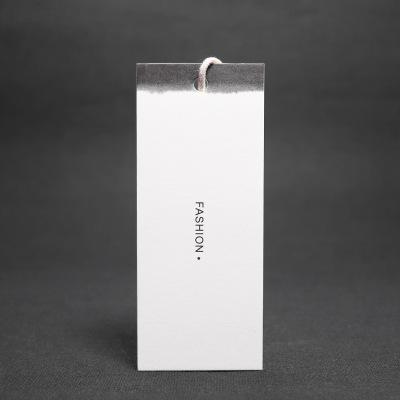 复古女装吊牌印刷设计定做中国风服装店衣服价格标签挂卡商标订制