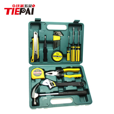 16-piece vehicle maintenance toolbox family hardware set portable tool set multi-function screwdriver combination