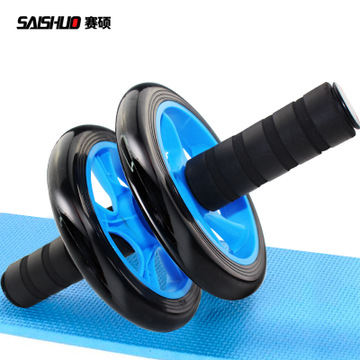 Double - wheeled abdominal muscle wheel genuine multi - functional healthy abdominal wheel silent abdominal health device to receive abdominal wheel fitness equipment manufacturers direct