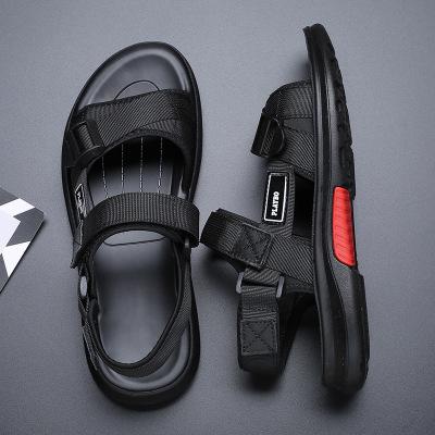 男士凉鞋2019夏季新款休闲透气凉鞋男潮流时尚户外运动沙滩鞋男