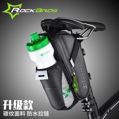 洛克兄弟自行车尾包山地车水壶包折叠车后座骑行配件C7平衡车包