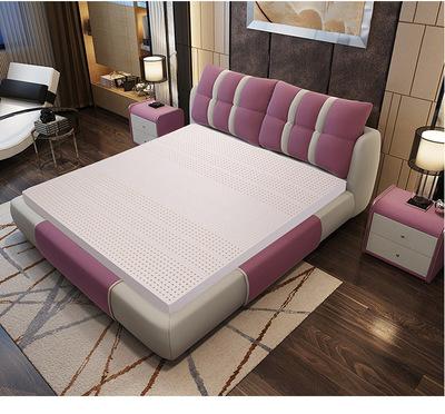 厂家直销纯乳胶床垫 泰国 天然床垫席梦思 皇家乳胶床垫批发品牌