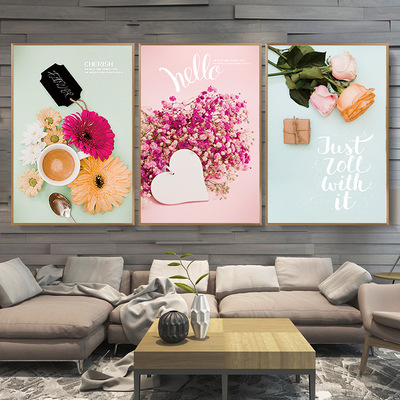 Nordic a generation hair hangs a picture to decorate a picture modern wall painting dining - room setting wall wholesale porch mural sitting room sofa
