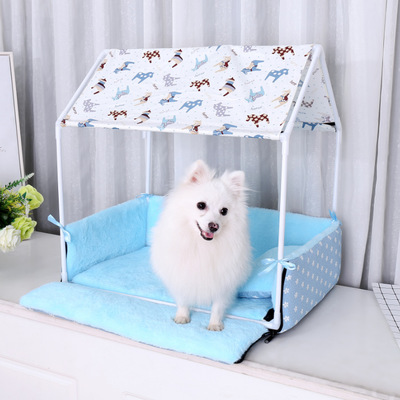 Manufacturers direct triangle pet kennel house warm dog kennel pad pad small pet supplies