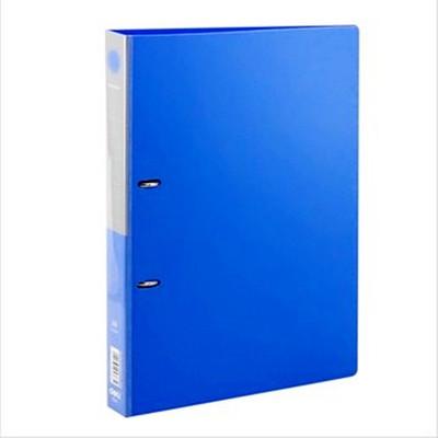 得力A4文件夹 办公用品 5383两孔D型文件夹 文件夹活页 文件夹