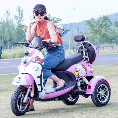 Jiasu qi manufacturers direct small turtle king electric tricycle disabled elderly mobility vehicles students take cars