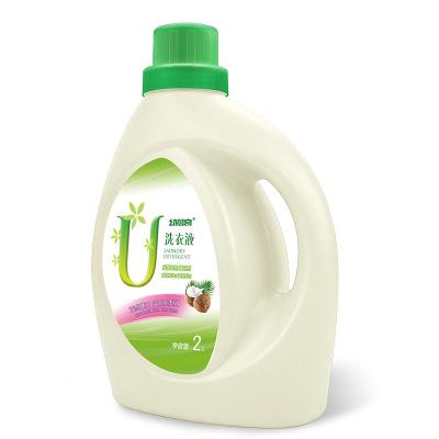 幼蓓奇家居通用洗衣液1桶2L4斤深层洁净洗衣液洗衣护色无荧光剂