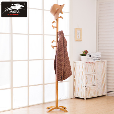 Wooden clothes rack easy clothes clothes fashion clothes rack special price