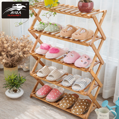 Wooden Wooden shoe shelf dustproof reinforcement modern simple special price