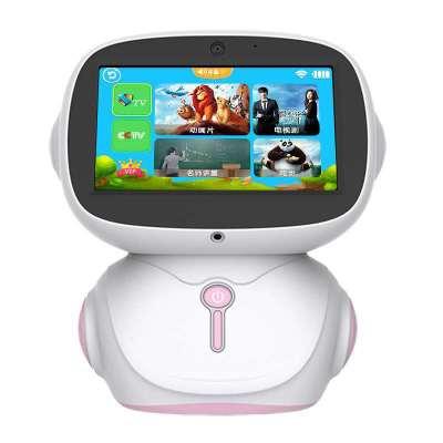 7寸触屏智能机器人 wifi视频对话儿童音乐视频播放陪伴教育学习机
