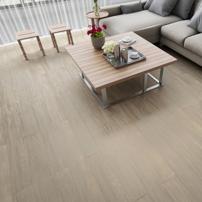 Noryarin silver pink cool oak veneer multilayer solid wood flooring 15 mmeo environmental protection, solid wood composite flooring