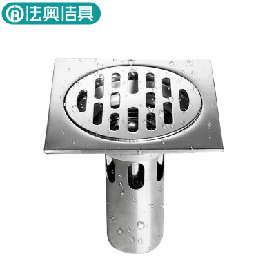 304 stainless steel bathroom deodorant floor drain bathroom tapping washing machine thick flow prevention floor drain. Tapping