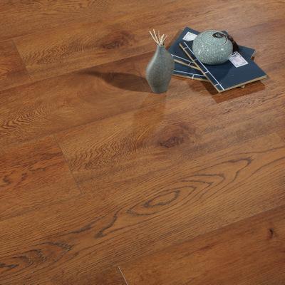 诺雅林 工厂直销EO环保耐磨复合木地板 封蜡锁扣强化地板时尚英伦