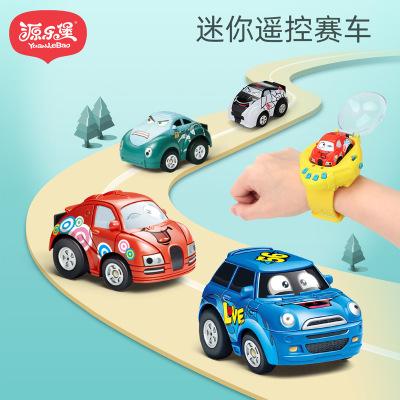 抖音网红同款手表感应遥控玩具车充电重力小赛车社会人儿童玩具