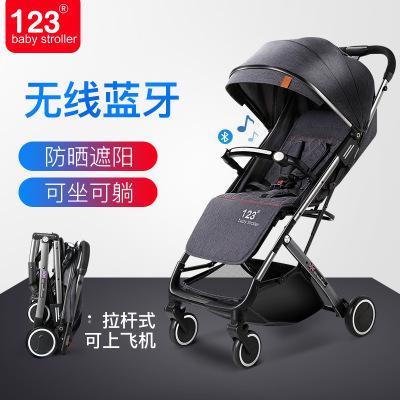 婴儿手推车可坐可躺新生幼儿超轻便携式折叠小孩宝宝儿童简易伞车