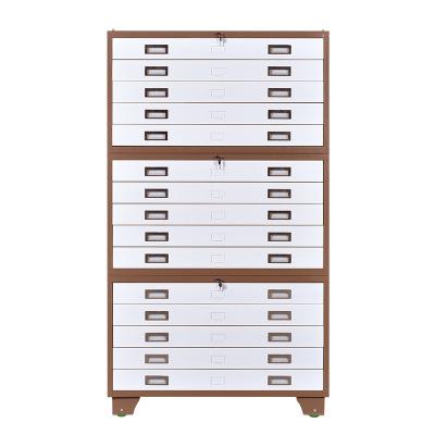 底图柜工程图纸柜资料柜0号1号抽屉式平铺菲林柜书画抽屉收纳柜
