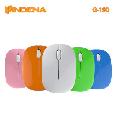 深圳工厂新款USB迷你无线鼠标儿童鼠标家用办公日韩风格