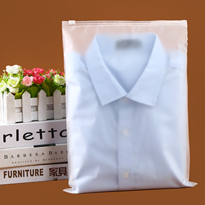 Eva garment zipper bag 30*40 double layer 15 silk transparent bag T-shirt shirt self-sealing packaging plastic bag