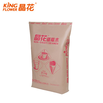 Manufacturers direct marketing jinghua milk tea coffee raw material powder C80 plant fat powder milk tea powder 25kg bags