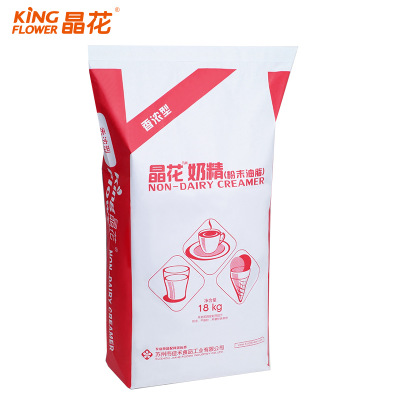 Manufacturers direct marketing jinghua milk tea raw materials wholesale 18 kg fragrant bulk packaging plant fat powder milk tea shop