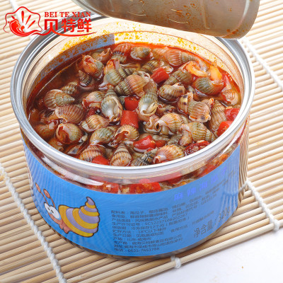 Ready-to-eat seafood snacks seafood seeds must go out for leisure travel spicy small seafood