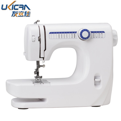 Manufacturers direct youlijia 609 sewing machine household 14 the lock buttonhole stitch, eat thick small electric sewing machine