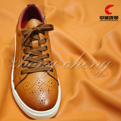 Alpaca grain oil wax vintage head layer leather handmade DIY shoes material luggage fabric whole piece wholesale