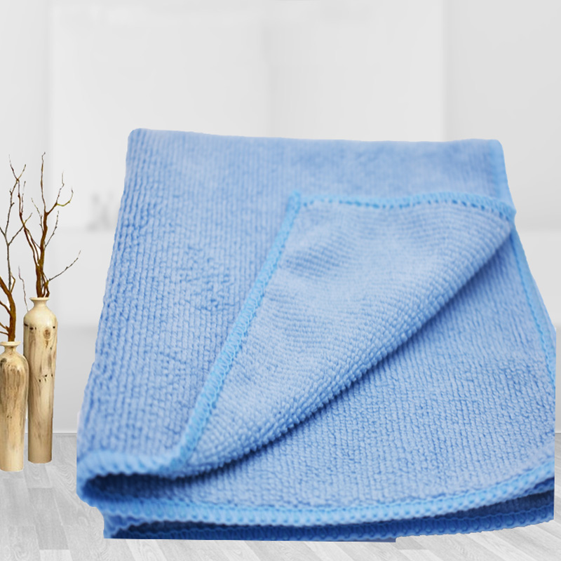 Polyester brocade warp knitted towel