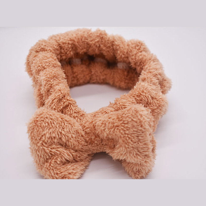 Polyester brocade double shan hair hoop
