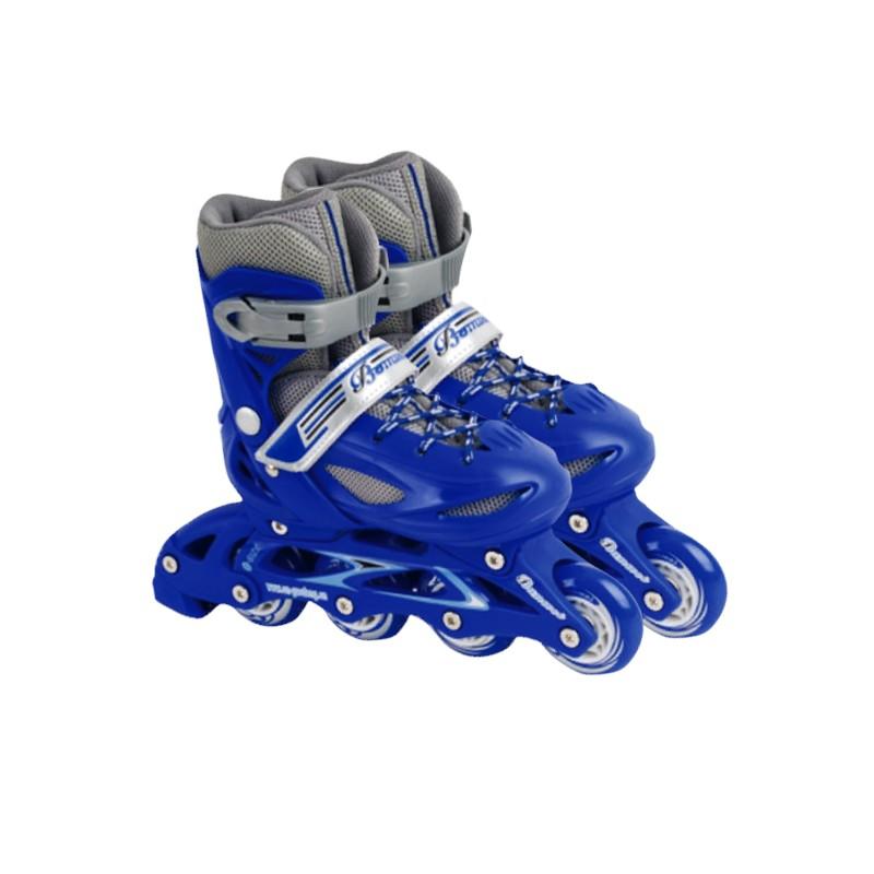 Sepatu roda Feile (sepatu hard shell baris ganda yang bisa disetel)