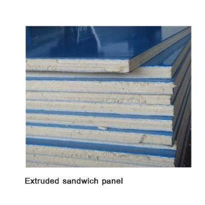 Rock wool sandwich panel