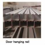 Door hanging rail