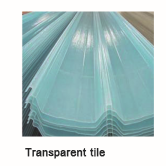Transparent tile