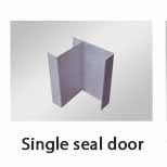 Single seal door