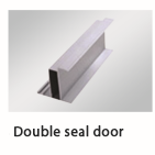 Double seal door